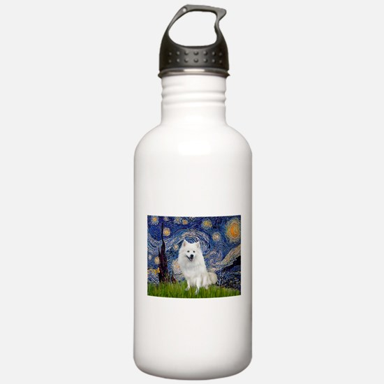 Starry-Am. Eskimo Dog Sports Water Bottle