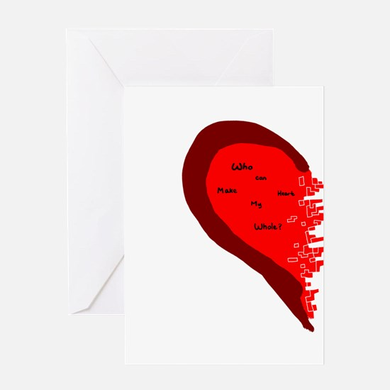 Whole Heart Greeting Card