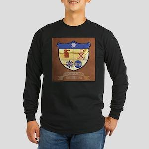 Duc In Altum Long Sleeve Dark T-Shirt