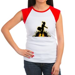 Ninja Women's Cap Sleeve T-Shirt