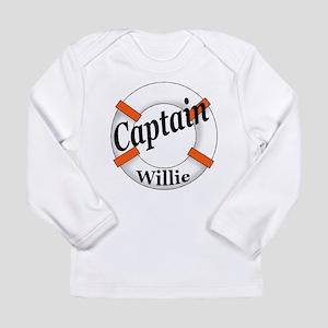 Captain Willie Long Sleeve Infant T-Shirt