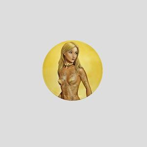 Asterith the Golden Mini Button