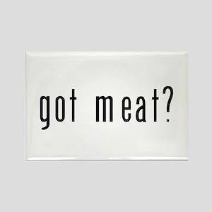 got meat? Rectangle Magnet
