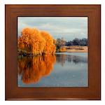 Scenery Framed Tile