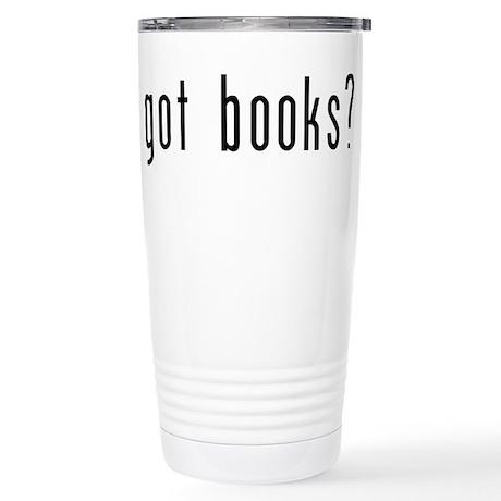 got books? Stainless Steel Travel Mug