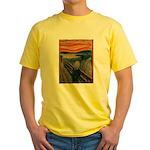 The Scream Yellow T-Shirt