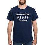 Accounting Genius Dark T-Shirt