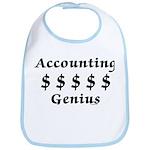 Accounting Genius Bib