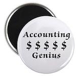 Accounting Genius Magnet