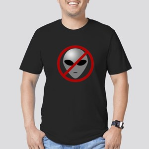 Alien Busters Men's Fitted T-Shirt (dark)