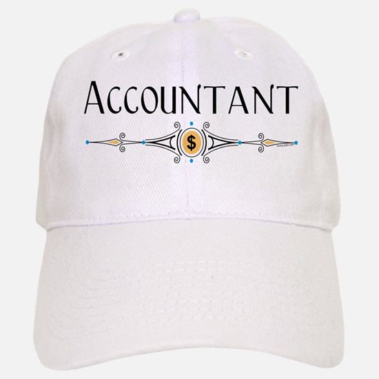 Accountant Decorative Line Baseball Baseball Cap