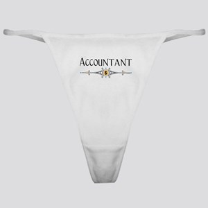 Accountant Decorative Line Classic Thong