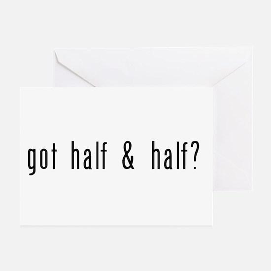 got half & half? Greeting Cards (Pk of 10)