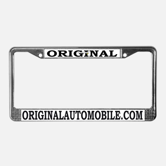 Cute Mercury License Plate Frame