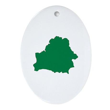 Belarus Ornament (Oval)