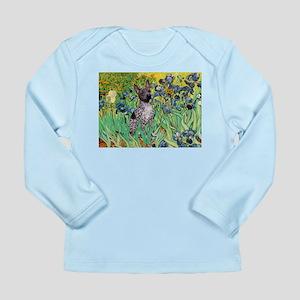 Irises-Am.Hairless T Long Sleeve Infant T-Shirt