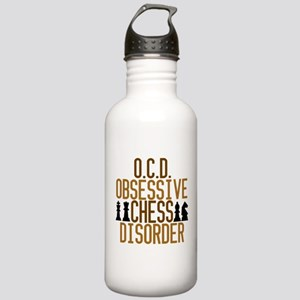 Funny Chess Addict Stainless Water Bottle 1.0L