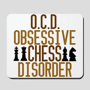 Funny Chess Addict Mousepad