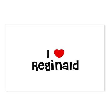 I * Reginald Postcards (Package of 8)
