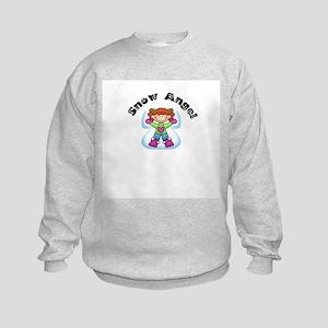 Snow Angel Kids Sweatshirt
