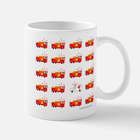 One of These Fire Trucks! Mug