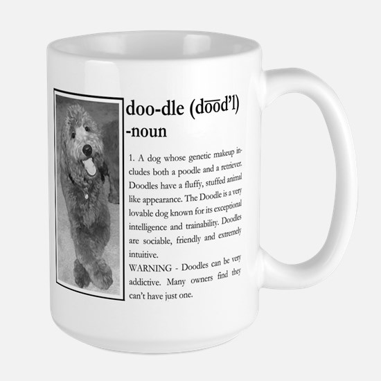 Doodle Definition Shirt Mugs