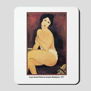 Modigliani Seated Nude Mousepad