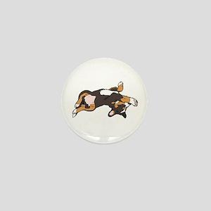 Sleeping Bernese Mountain Dog Mini Button