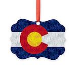 Colorado Pot Flag Ornament