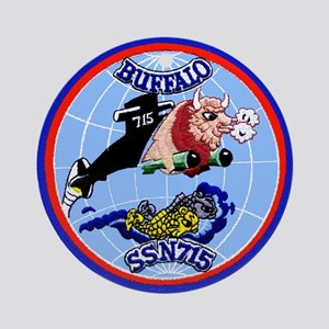 USS Buffalo SSN 715 Ornament (Round)