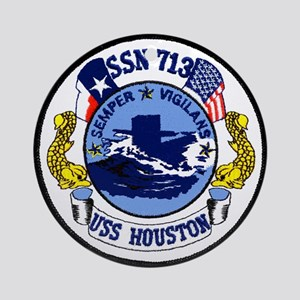 USS Houston SSN 713 Ornament (Round)