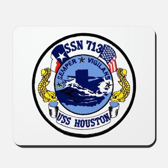 USS Houston SSN 713 Mousepad