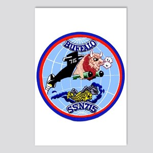USS Buffalo SSN 715 Postcards (Package of 8)