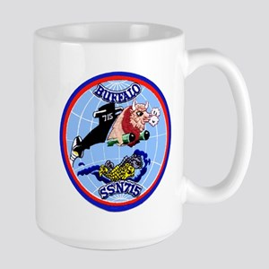 USS Buffalo SSN 715 Large Mug