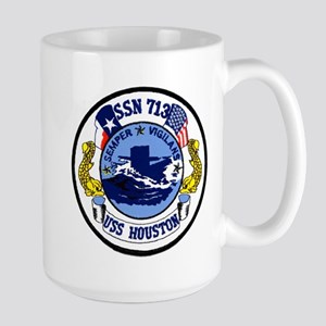 USS Houston SSN 713 Large Mug