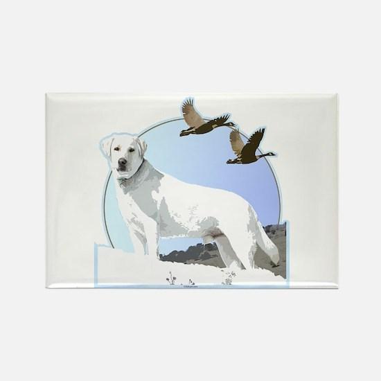Labradors Rectangle Magnet