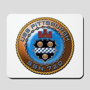 USS Pittsburgh SSN 720 Mousepad