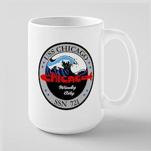 USS Chicago SSN 721 Large Mug