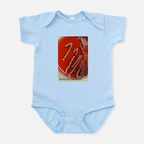 Bacteria Are Creatures Too Infant Bodysuit