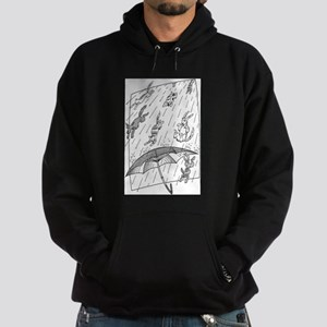 Raining cats & dogs Hoodie (dark)