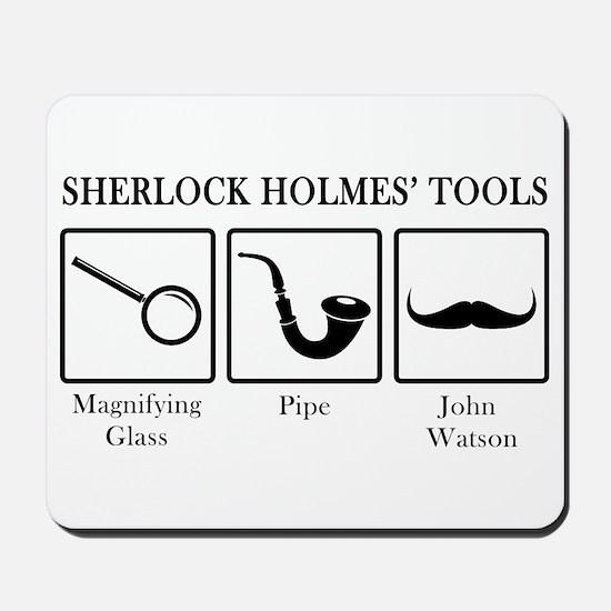 Sherlock Holmes' Tools Mousepad
