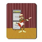 Sock Monkey Guitar Mousepad