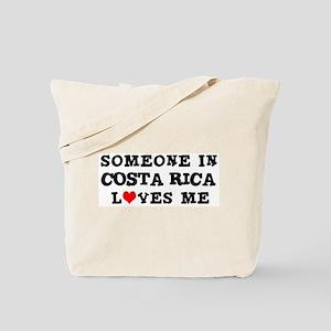 Someone in Costa Rica Tote Bag