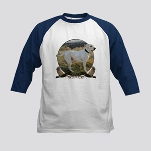 Yellow lab Kids Baseball Jersey