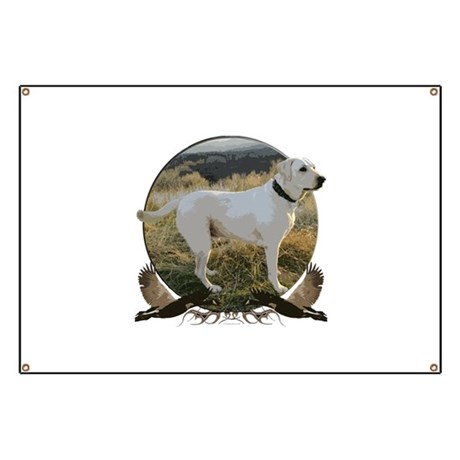 Yellow lab Banner