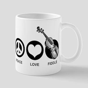 Peace Love Fiddle Mug