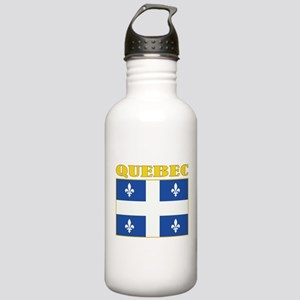 Quebec Flag Stainless Water Bottle 1.0L