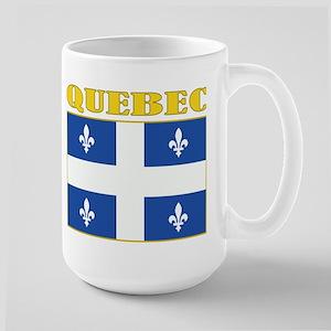 Quebec Flag Large Mug