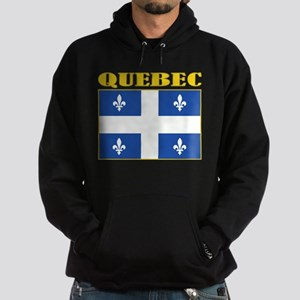 Quebec Flag Hoodie (dark)