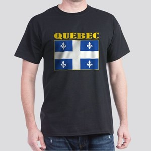 Quebec Flag Dark T-Shirt